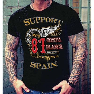 Hells Angels Big Red Machine Softail Support81 T-Shirt