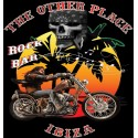 Hells Angels The Other Place Big Red Machine T-Shirt black