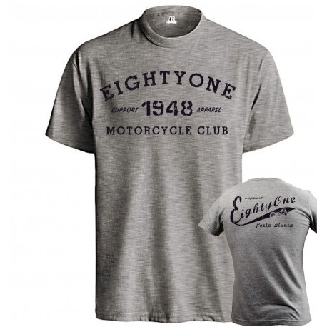 Hells Angels 1948 Motorcycleclub Support81 Gray T-Shirt