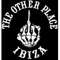 Hells Angels The Other Place Ibiza Finger T-Shirt black
