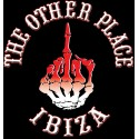 Hells Angels The Other Place Ibiza Red Finger T-Shirt