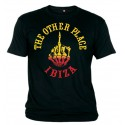 Hells Angels The Other Place Ibiza Yellow Finger T-Shirt
