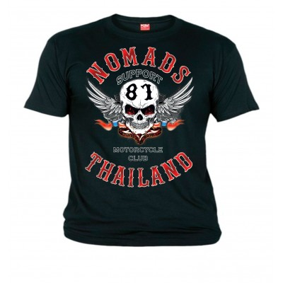 Hells Angels Nomads Thailand Support81 T-Shirt M - 8XL