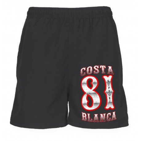 Support 81 Hells Angels Sport Shorts Classic black