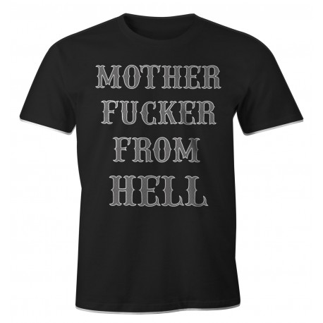 Hells Angels Support81 Mother Fucker From Hell T-Shirt