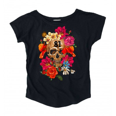 Hells Angels Support 81 bouquet  Ladies loose fit T-Shirt