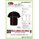 Hells Angels Star Support81 White Rocker Chopper T-Shirt