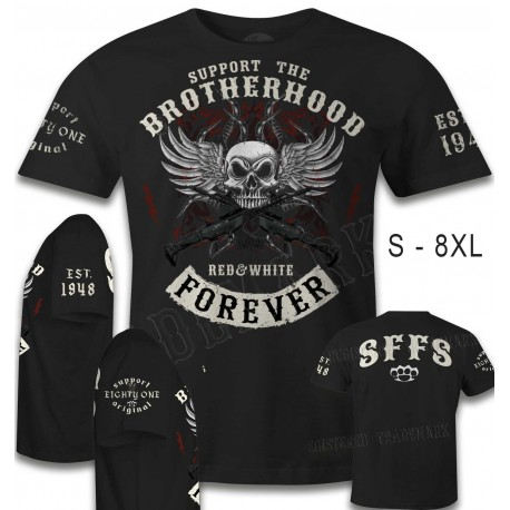 Hells Angels Support 81 T-shirt Brotherhood Special