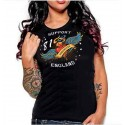 Hells Angels Manchester England Ladies T-Shirt model 1