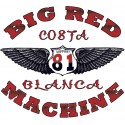 Wings  White T-Shirt Support81 Big Red Machine