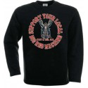 Biker Support81 Costa del Sol Sweater  Big Red Machine Black