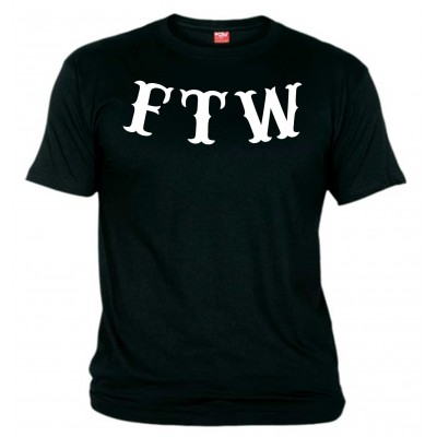 FTW Support81 Black T-Shirt