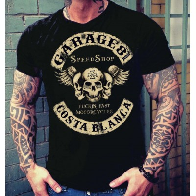 Hells Angels Fuckin Fast Support81 Camiseta