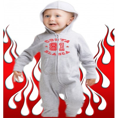Baby Bodysuit Support 81 Costa Blanca Hells Angels College