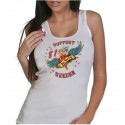 Hells Angels West Rock City Heart Support 81 Ladies Tanktop / Singlet